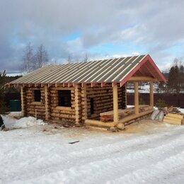 Готовые строения - Сруб из бревна зимний лес, 0