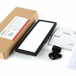Осветительное оборудование - Накамерный видеосвет + сетевой блок питания, 0
