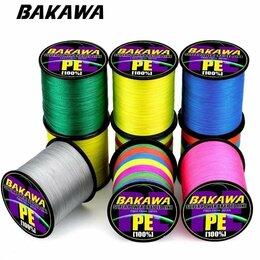 Леска и шнуры - 300 м. BAKAWA Плетёная леска, 0