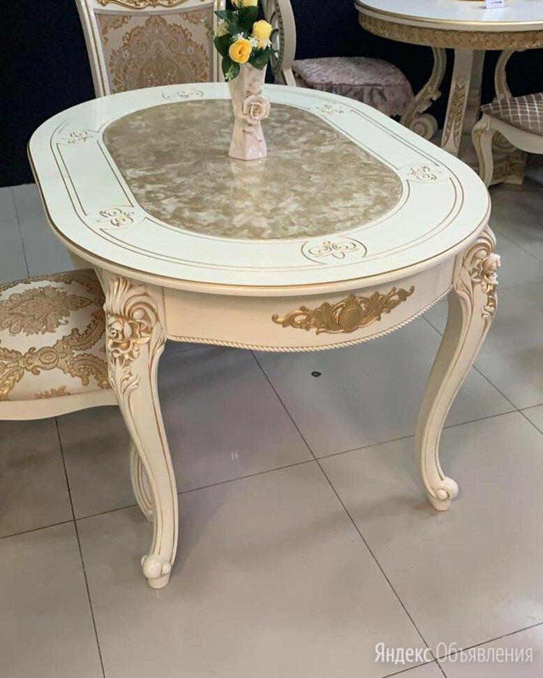 Стол Роза мрамор по цене 22000₽ - Столы и столики, фото 0