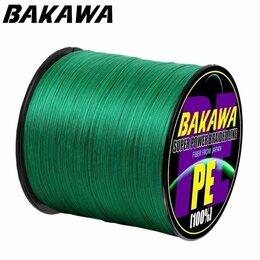 Леска и шнуры -  BAKAWA, 4 нити, 300 м,  Плетёная леска., 0