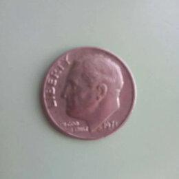 Монеты - Монета One Dime USA 1971год., 0