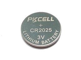 Батарейки - Литиевый элемент питания PKCELL CR2025-5B тип - CR, 0