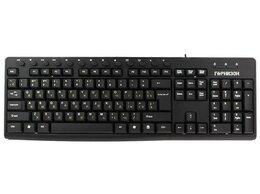 Клавиатуры - Клавиатура Гарнизон GKM-125 черный USB, 0