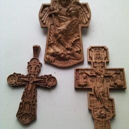 Картины, постеры, гобелены, панно - Иконы, кресты из дуба и бука., 0