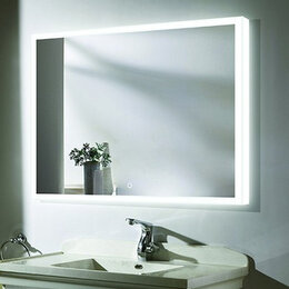 Зеркала - Зеркало 1000x800 Led антизапотевание Esbano…, 0