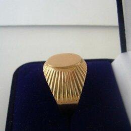 Кольца и перстни - Золото, кольцо, перстень, печатка из надежного золота проба 583, 0