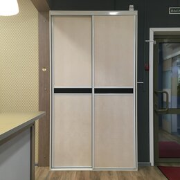 Комплектующие - Двери-купе Komandor с экокожей, 0