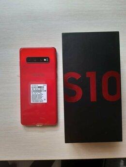 Мобильные телефоны - Samsung Galaxy S10 128 гб красный (отдам с чехлом), 0