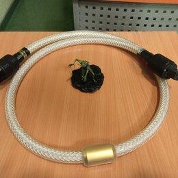 Компьютерные кабели, разъемы, переходники - Кабель питания Xindak PF-Gold 1.5м, 0