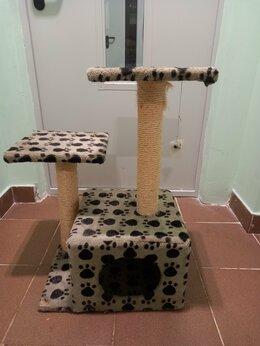 Лежаки, домики, спальные места - Кошачий домик с когтеточкой отдам даром, 0