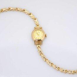 """Наручные часы - Золотые часы """"Мак Тайм"""", 585 пр. женские., 0"""