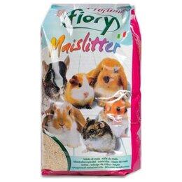 Сено и наполнители - Fiory Maislitter Profumato дикие ягоды 5 л  Наполнитель кукурузный для грызунов, 0