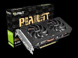 Видеокарты - Видеокарта Palit GeForce GTX 1660 super Gaming Pro, 0