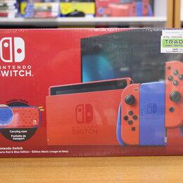Игровые приставки - Nintendo Switch Mario Red & Blue Edition, 0