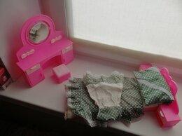 Игрушечная мебель и бытовая техника - Мебель для кукол Барби - Спальня, 0