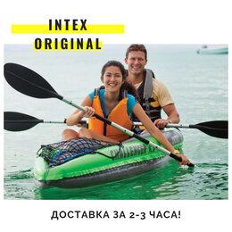 Надувные, разборные и гребные суда - Надувные байдарки надувные каяки Intex новые двухм, 0