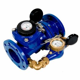 Счётчики воды - Счетчик воды комбинированный, водомер комбинированный водосчетчик, 0
