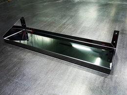 Прочее оборудование - Полка настенная сплошная из нержавеющей стали , 0