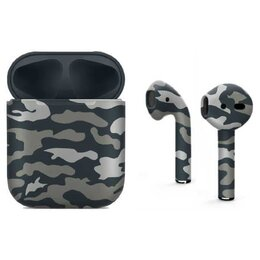 Наушники и Bluetooth-гарнитуры - Apple AirPods (New Grey and Green camouflage) Беспроводные наушники в футляре..., 0