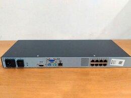 Проводные роутеры и коммутаторы - Переключатель KVM 8 портов HP 336044-B21, 0