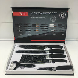 Посуда - Набор ножей Сила гранита  6 предметов, 0