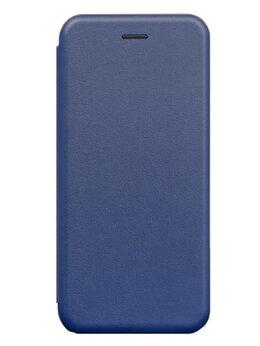 Чехлы - HONOR 10i темно синий новый (кожанный), 0