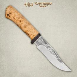 Ножи и мультитулы - Нож Клычок-1 Златоуст из стали 95х18 карельская…, 0