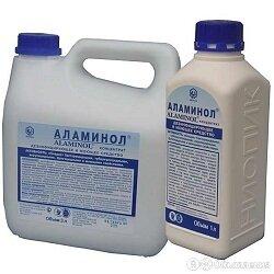 Аламинол по цене 640₽ - Дезинфицирующие средства, фото 0