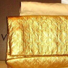 Клатчи - Сумка клатч из кожи козы Louis Vuitton 2008 год, 0