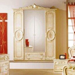 Шкафы, стенки, гарнитуры - Шкаф 4-дверный Роза, 0