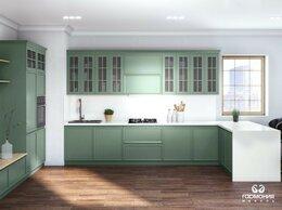 Мебель для кухни - Кухня угловая с фасадами из массива. Кухня на…, 0