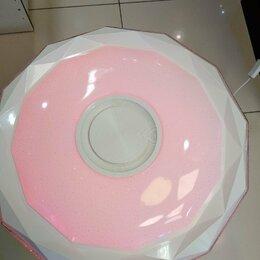 Люстры и потолочные светильники - Светодиодный светильник 60 вт MUSIC RAY RGB С Bluetooth., 0