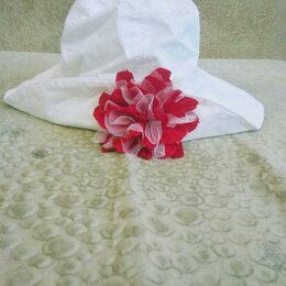 Головные уборы - Летняя шляпка chobi 53-55 размер, 0
