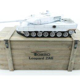 Радиоуправляемые игрушки - Р/У танк Taigen 1/16 Leopard 2 A6 (Германия) UN 2.4G RTR, деревянная коробка, 0