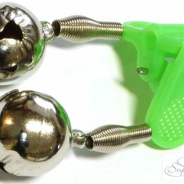 Ударные установки и инструменты - Бубенчик Mifine двойной пласт. LB03, 0