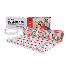 Электрический теплый пол и терморегуляторы - Тёплый пол (нагревательный мат) REXANT Classic…, 0