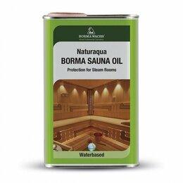 Масла и воск - Масло для полков в банях и саунах, Borma wachs, 0