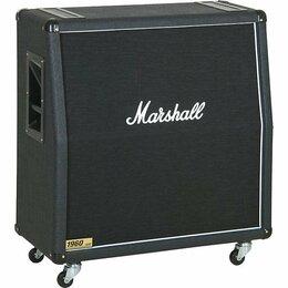 Гитарное усиление - MARSHALL 1960A кабинет гитарный, скошенный, 4x12…, 0