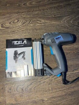 Гвоздескобозабивные пистолеты и степлеры - Скобозабивной пистолет Tesla TES2000, 0