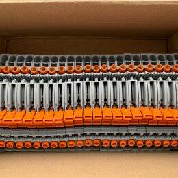 Электроустановочные изделия - DIN клеммник с размыкателем, 0