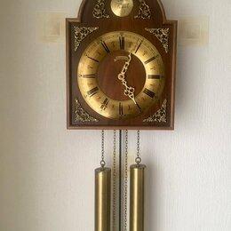 Часы настенные - Часы антикварные настенные Германия , 0