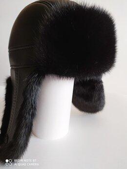 Головные уборы - Новые шапки из норки и кожи, 0