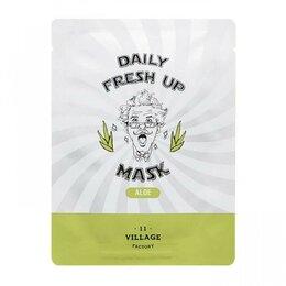 Маски - Тканевая маска с экстрактом алоэ Village 11…, 0