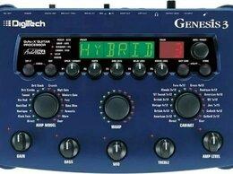 Процессоры и педали эффектов - Легендарный гитарный процессор DIGITECH Genesis 3 , 0