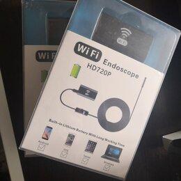Видеокамеры - Эндоскоп wifi для iphone 5м 720p жесткий кабель , 0
