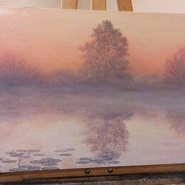 Картины, постеры, гобелены, панно - картина туманное утро, 0