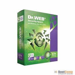 Программное обеспечение - ПО Dr.Web Security Space, картонная упаковка, на 12 месяцев, на 2 ПК AHW-B-12M-, 0