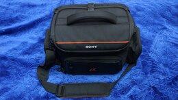 Сумки, чехлы для фото- и видеотехники - Мягкий кейс SONY LCS-SC20 для фотокамеры, 0