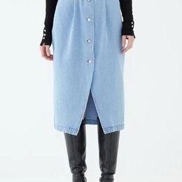Юбки - Юбка джинсовая 42 по 48 размеры, 0